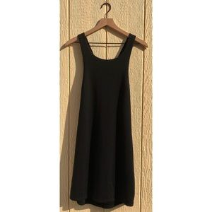 JustFab Black Mini Dress